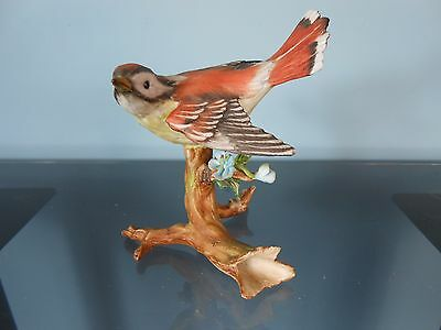 Vintage CapodiMonte Chaffinch - Numbered Ltd Ed of 2000 Figurine by Viertasca