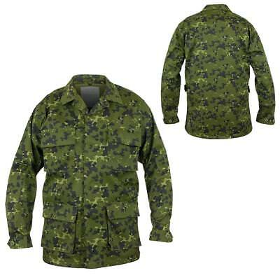 Mil-Tec Bdu Us Style Field Shirt Danish M84 Camouflage Army Style Airsoft Camo