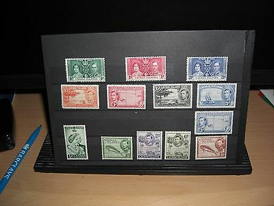 A Selection Of M/ Mint George V1 Cayman Island Stamps