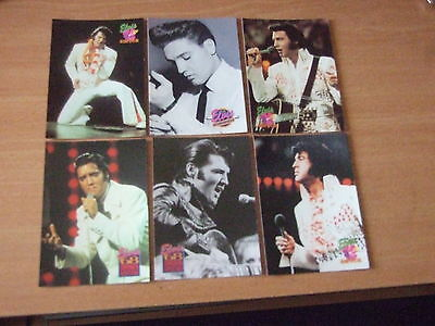 50 Elvis Presley collectors cards all different and in mint condition