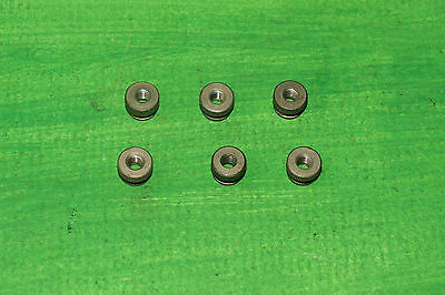 6x Triang Hornby Knurled nuts for vintage controllers  oo / ho gauge