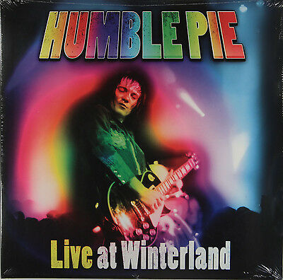 Humble Pie - Live At Winterland (2 x 180g Vinyl LP) New & Sealed