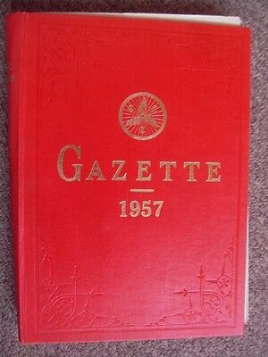 Cyclists' Touring Club Gazette 1957 Full Year 1950's Cycling Magazine - unbound