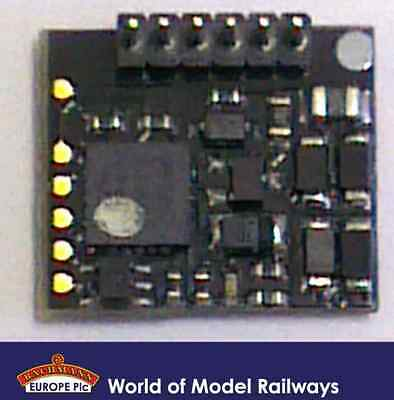 Bachmann 36-556RA E-Z Command 90 Degrees 6 Pin DCC Decoder (Analogue Compatible)