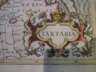 Tartariae - Eastern Europe, Russia To China - Cartographer - Jodocus Hondius!