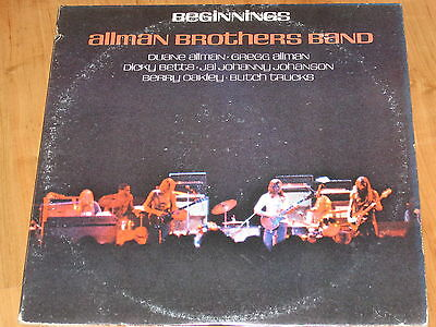 The Allman Brothers Band - Beginnings 2er LP 1973 / TOP  (1)
