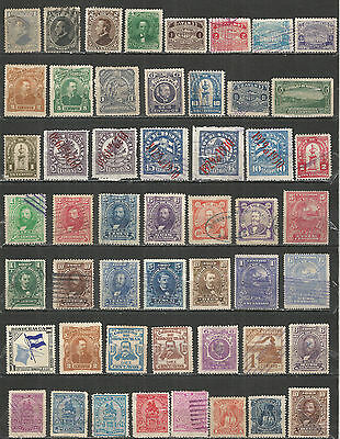 Honduras  from 1878 year, nice collection  stamps mint/used