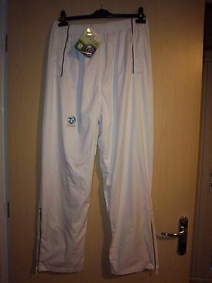 Men's Taylor, White. New Bowls Trousers size XL