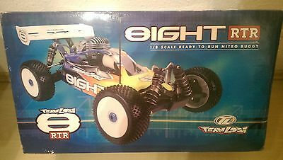 Team Losi 8ight RTR Nitro OFF Road Buggy 4WD  1/8