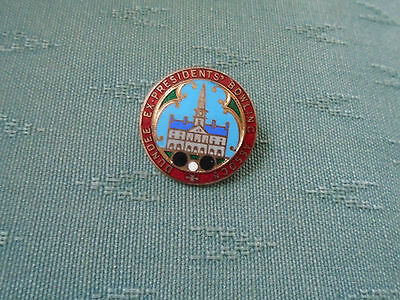 Vintage Dundee Ex Presidents Bowling Association - Enamel Bowls Pin Badge