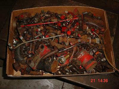 35-Lbs. Original 9N-2N-8N Ford Tractor Bolts, Nuts, Brackets, Small Parts Ford