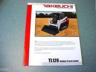 Takeuchi TL120 Rubber Track Loader Brochure