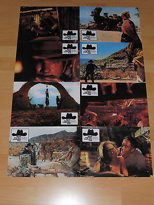 ONCE UPON A TIME IN THE WEST - 8 lobby cards R80´s - SERGIO LEONE Henry Fonda