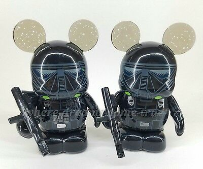 "Vinylmation 3"" Star Wars Rogue One Imperial Death Trooper Variant & non (NEW)"
