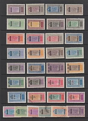 French colonies , 1921 - 1927 mint hinged collection