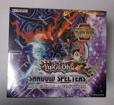 Konami Yu-Gi-Oh! Sealed Booster Box Shadow Specters Special Edition 10 Count