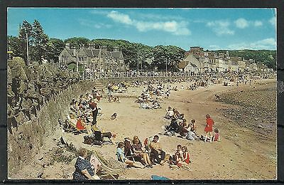 Postcard : Isle of Cumbrae Millport holidaymakers on the Beach