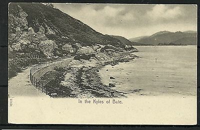 Postcard : Isle of Bute in the Kyles of Bute by Stengel