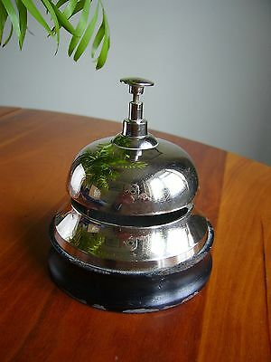 A Lovely Vintage Table Top Reception Desk Bell