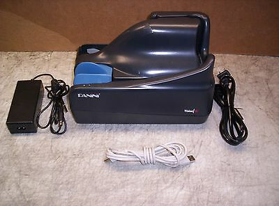 Panini Vision X Check Scanner w/ PS and USB Cable 50 DPM Unlimited Feeder Inkjet