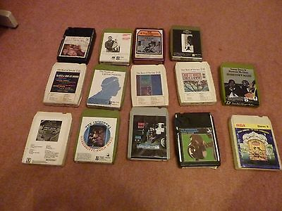 14 off  8  TRACK STEREO TAPES   BLUES JOB LOT.