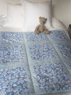 Baby Boy Patchwork Quilt & matching Bunting