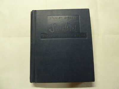 STANLEY GIBBONS SWIFTSURE  STAMP ALBUM WITH ABOUT 2200 WORLD STAMPS 1940 - 1970s