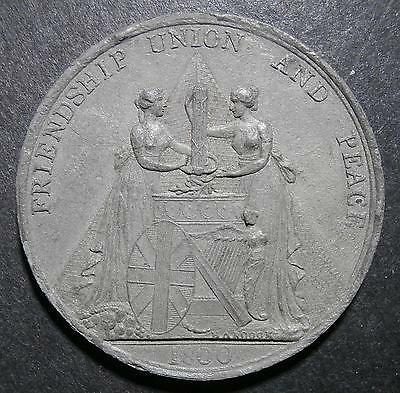 Medallion - Union Great Britain & Ireland 1800 by Hancock - 38mm WM Eimer#917