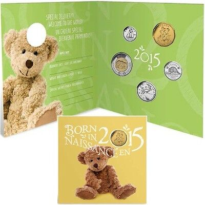 2015 Canada Baby Gift Set of Coins