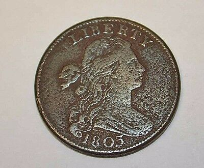 1803 Draped Bust Large Cent, Small Date, Small Fraction