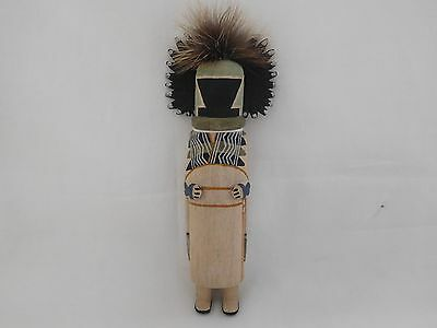 "Below Gallery Price Old Style Hopi Indian ""crow Mother"" Kachina By Raynard Lalo"
