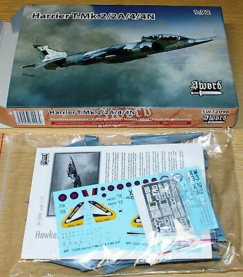 Harrier T.Mk.2/2A/4/4N in 1/72 von Sword