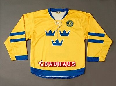 ICE HOCKEY JERSEY NEH SWEDEN No.21 SIZE S/M
