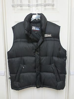 FIRST DOWN Exploration Gear Goose Down Men's Vest size XL /XXL