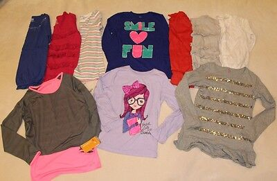 GIRLs 14 16 THE CHILDRENS PLACE OLD NAVY shirts tops hoodies 16 pc lot