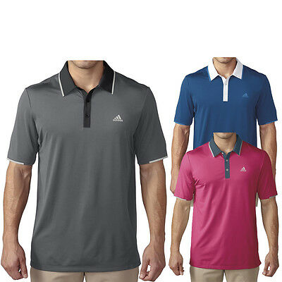 2016 Adidas ClimaCool Branded Performance Golf Polo NEW