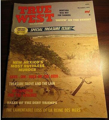 True West Magazine December 1971 - Special Treasure Issue