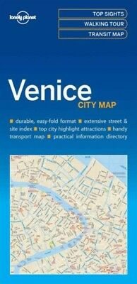 VENICE CITY MAP, Lonely Planet, 9781786575005
