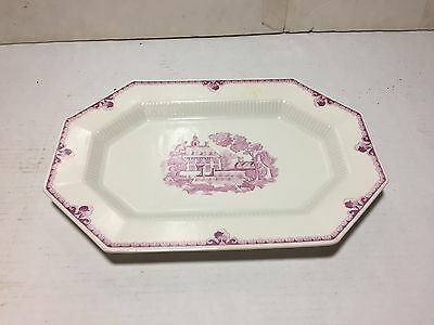 Vtg Independence Ironstone Castleton China Japan Platter Serving Plate 13""