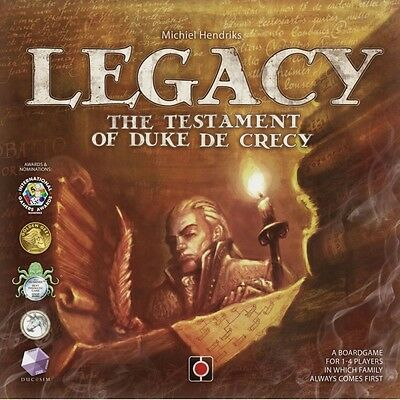 Legacy The Testament of Duke de Crecy Brand New