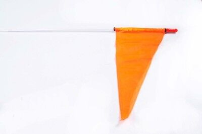 5' - No FIRESTIK Safety Flag  Part# F5-PS-WH/OR