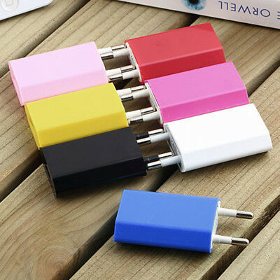 2 Pin European Power Adapter USB AC 5V/1A EU Plug Wall Charger For Smartphone