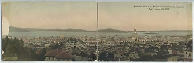 CA San Francisco H/C ALBERTYPE 1915 PANORAMIC VIEW PPIE Panama Pacific Expo  WAF
