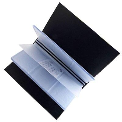 Office PU Leather 240 Cards Business Name ID Credit Card Holder Book Case Keeper
