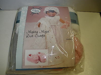 NEW Annie's Hook & Needle Kit Club Nighty Night Doll Outfit