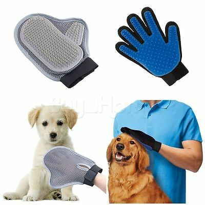 Pet Deshedding Brush Magic Massage Glove for Dog Cat Grooming Groomer Bath Clean