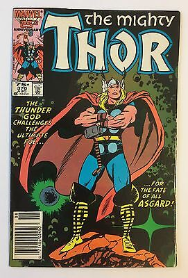 The Mighty THOR #370 1986 Cowboy Western Story James Owsley John Buscema VG/FN