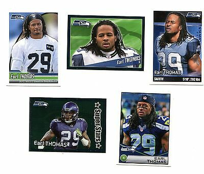 EARL THOMAS Panini NFL Sticker Collection (2010-2014)  Seattle Seahawks