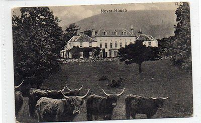 """""postcard Novar House,nr.evanton,ross,scotland"""""