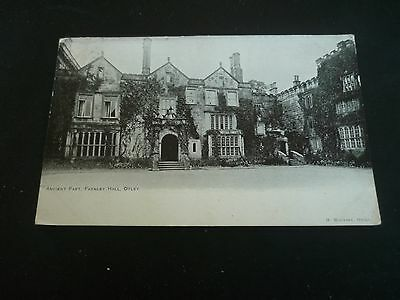 Ancient Part, Farnley Hall, OTLEY, Yorkshire, Postcard posted 1903